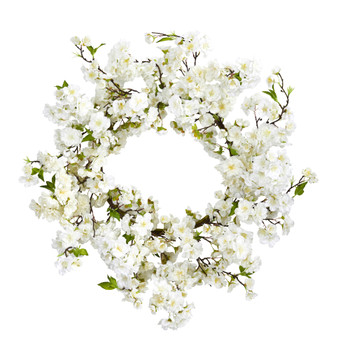 24 Cherry Blossom Wreath - SKU #4218