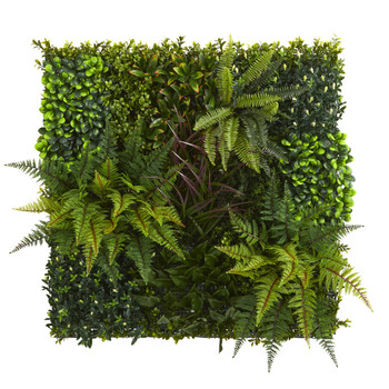 29 x 29 Artificial Living Wall UV Resistant Indoor/Outdoor - SKU #4254