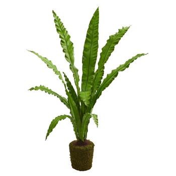 5 Birdsnest Artificial Plant - SKU #4295