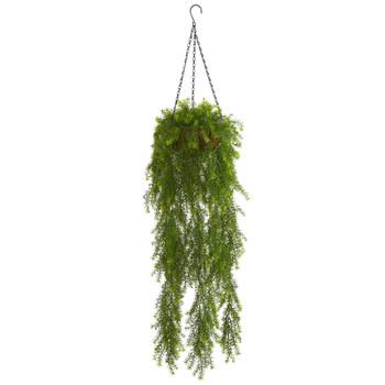 3 Willow Artificial Plant Hanging Basket - SKU #4299