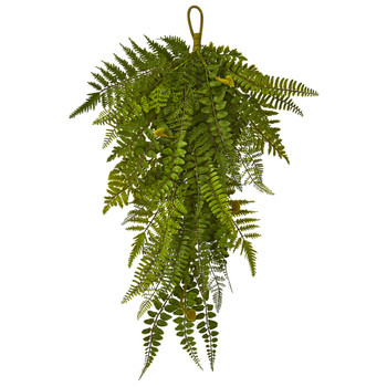 28 Fern Artificial Teardrop Set of 2 - SKU #4322-S2