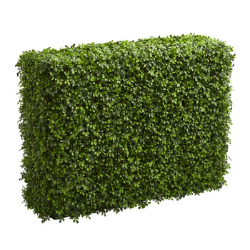 39 Boxwood Artificial Hedge indoor/Outdoor - SKU #4342