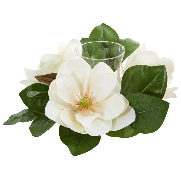 13 Magnolia Artificial Candelabrum Arrangement - SKU #4346