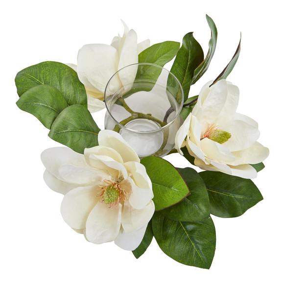 13 Magnolia Artificial Candelabrum Arrangement - SKU #4346 - 1