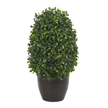 13 Boxwood Topiary Artificial Plant UV Resistant Indoor/Outdoor - SKU #4355