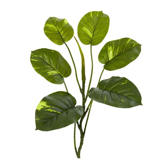 32 Large Leaf Pothos Artificial Vinning Plant Set of 6 - SKU #4356-S6