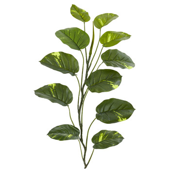 4 Large Leaf Pothos Artificial Vinning Plant set of 4 - SKU #4357-S4