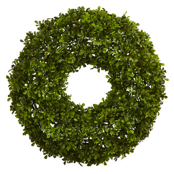 22 Boxwood Wreath - SKU #4554