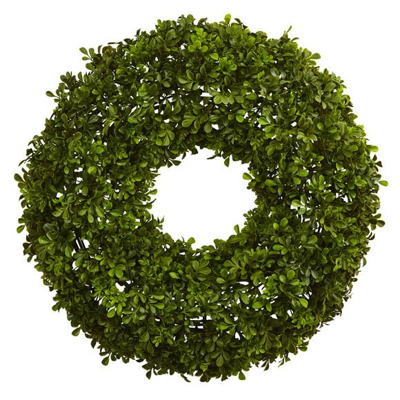 22 Boxwood Wreath - SKU #4554