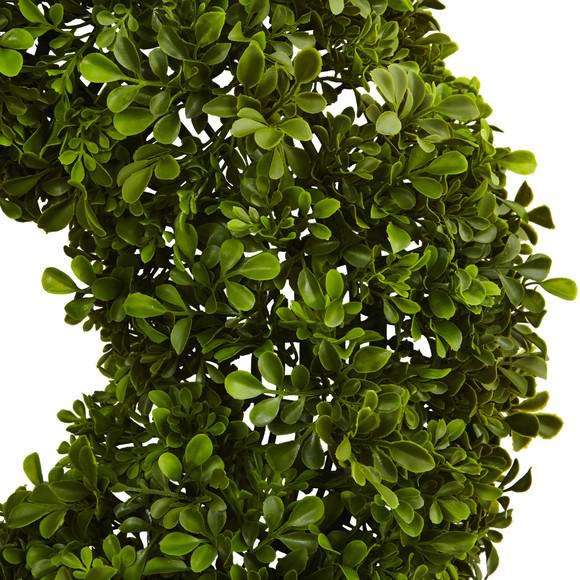 22 Boxwood Wreath - SKU #4554 - 1