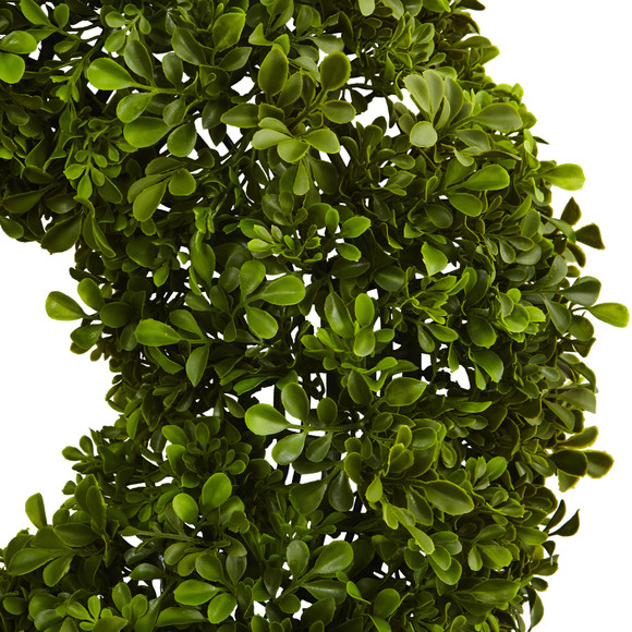 22 Boxwood Wreath - SKU #4554 - 1