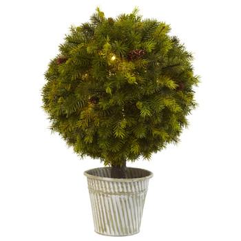 23 Pine Ball in Iron Top - SKU #4559
