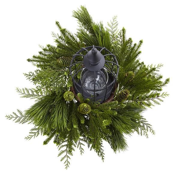 Mixed Pine Birdhouse Candelabrum - SKU #4561 - 1
