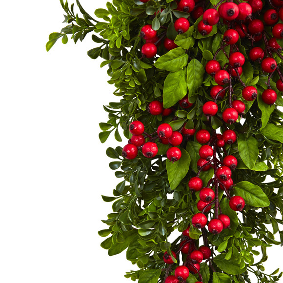 26 Berry Boxwood Teardrop - SKU #4562 - 1