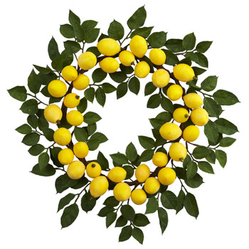 24 Lemon Wreath - SKU #4567