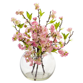 Cherry Blossom in Large Vase - SKU #4572