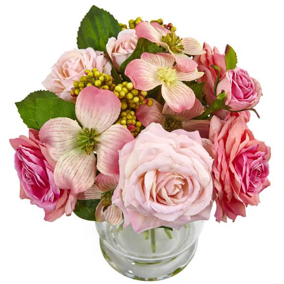 10 Rose and Berry Arrangement - SKU #4573 - 1