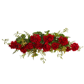 32 Geranium and Berry Swag - SKU #4574