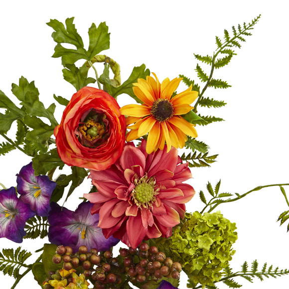 24 Garden Flower Teardrop - SKU #4578 - 1