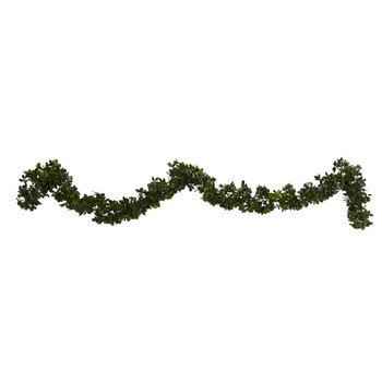 6 Boxwood Artificial Garland Indoor/Outdoor Set of 4 - SKU #4595-S4