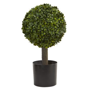 21 Boxwood Ball Topiary Artificial Tree - SKU #4596