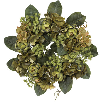 18 Artichoke Wreath - SKU #4628