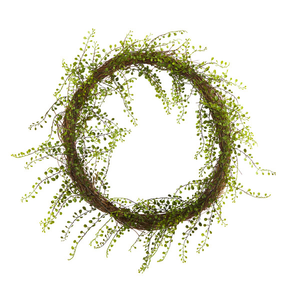 20 Night Willow Artificial Vine Wreath - SKU #4647