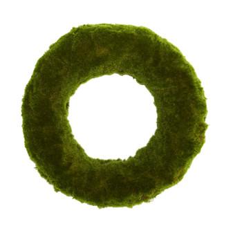18 Moss Artificial Wreath - SKU #4649