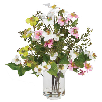 Dogwood Silk Flower Arrangement - SKU #4687