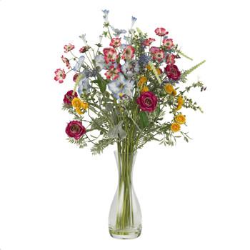 Veranda Garden Silk Flower Arrangement - SKU #4696