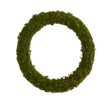 20 Moss Artificial Wreath - SKU #4713