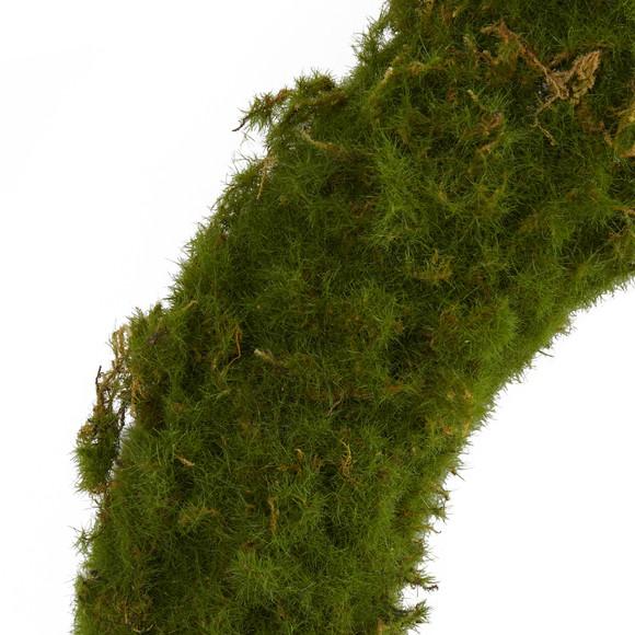 20 Moss Artificial Wreath - SKU #4713 - 2