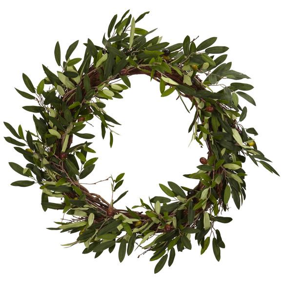 20 Olive Wreath - SKU #4773