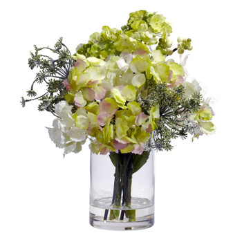 Hydrangea Silk Flower Arrangement - SKU #4779