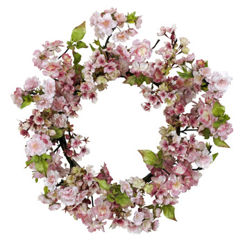 24 Cherry Blossom Wreath - SKU #4783