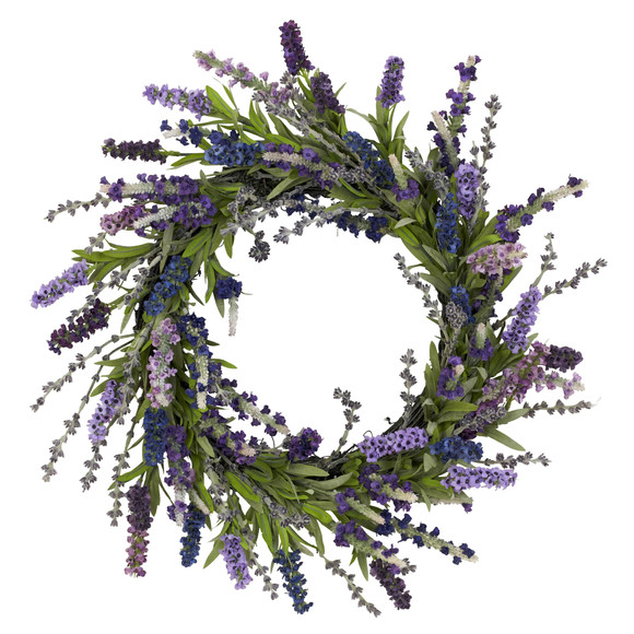 20 Lavender Wreath - SKU #4785