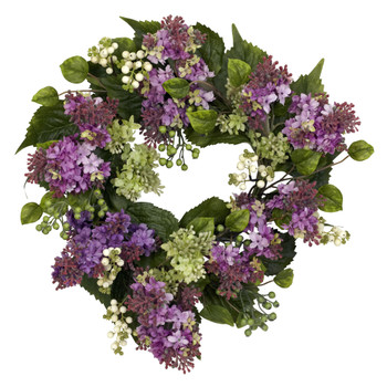 20 Hanel Lilac Wreath - SKU #4786