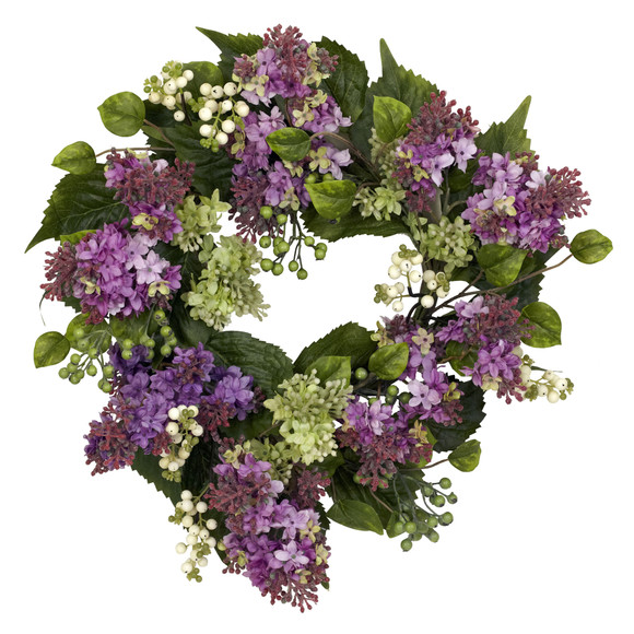20 Hanel Lilac Wreath - SKU #4786