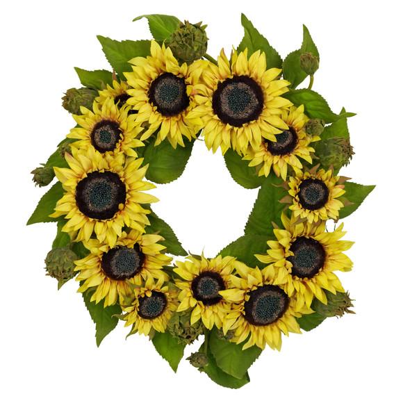 22 Sunflower Wreath - SKU #4787