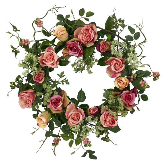 20 Rose Wreath - SKU #4802