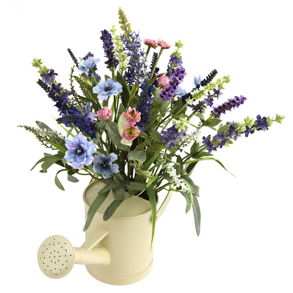 Lavender Arrangement w/Watering Can - SKU #4816