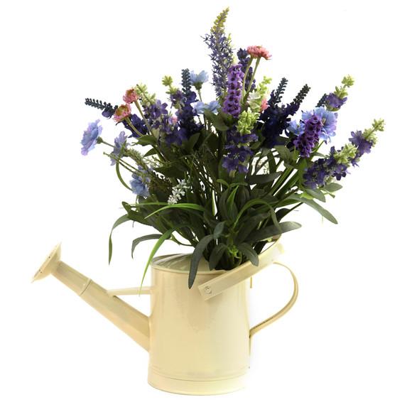 Lavender Arrangement w/Watering Can - SKU #4816 - 1