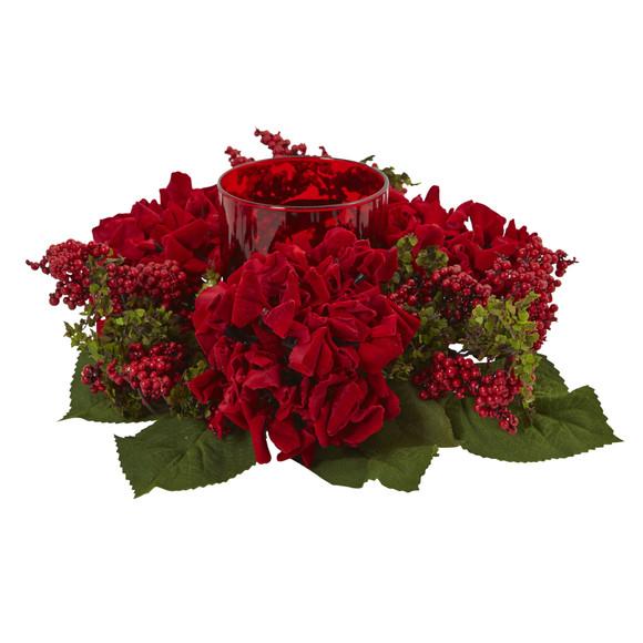 Hydrangea Berry Candelabrum - SKU #4877