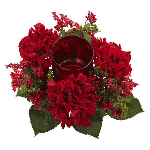 Hydrangea Berry Candelabrum - SKU #4877 - 1