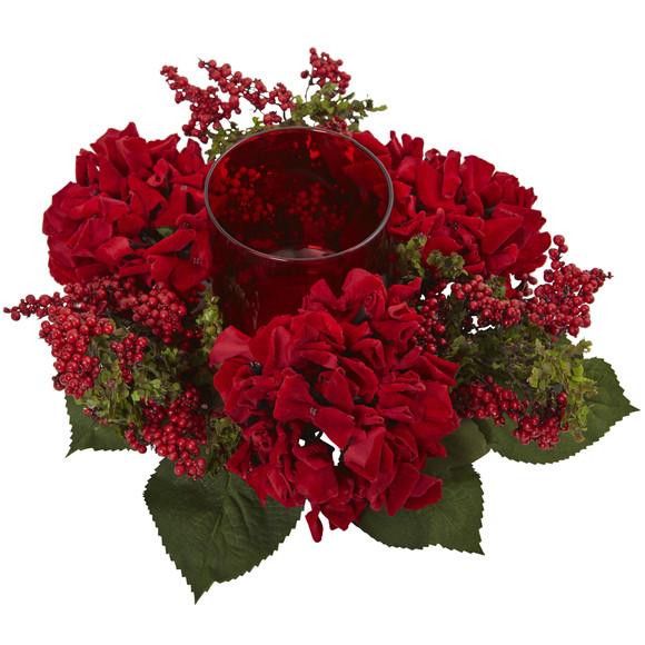 Hydrangea Berry Candelabrum - SKU #4877 - 2