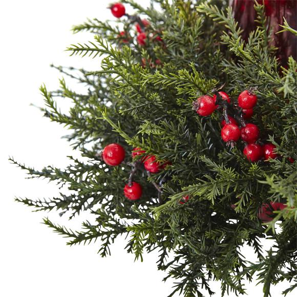 Cedar Berry Candelabrum - SKU #4892 - 1