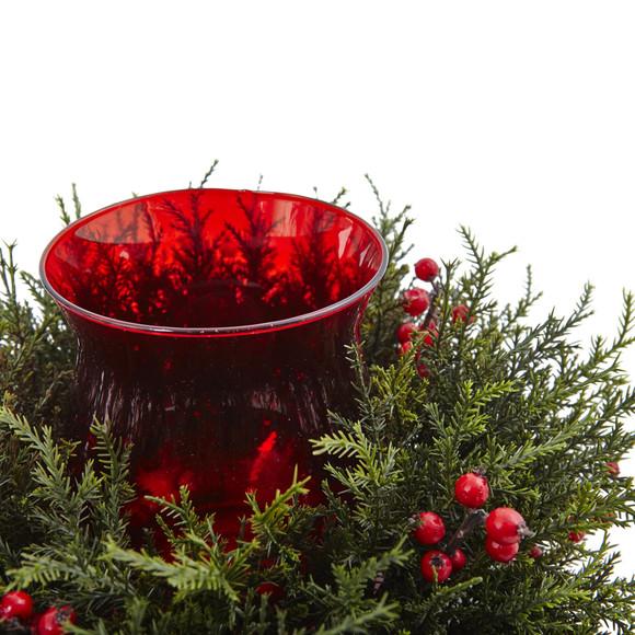 Cedar Berry Candelabrum - SKU #4892 - 2