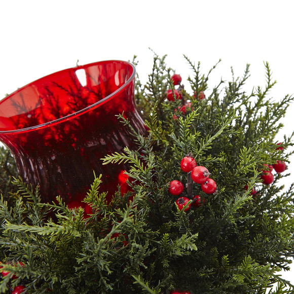 Cedar Berry Candelabrum - SKU #4892 - 3