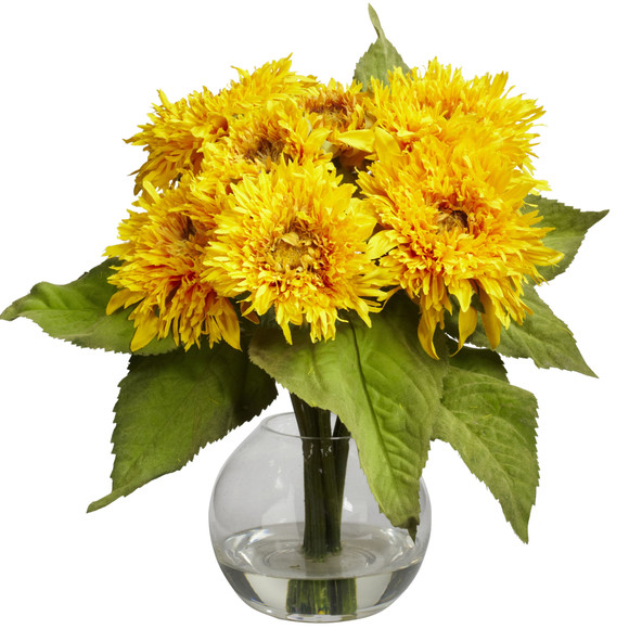 Golden Sunflower Arrangement - SKU #4906
