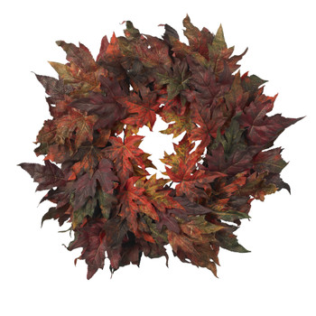 30 Maple Leaf Wreath - SKU #4908